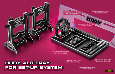 HUDY ALU TRAY FOR SET-UP SYSTEM #109860