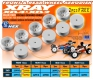 2WD FRONT WHEEL AERODISK WITH 12MM HEX - WHITE (10)