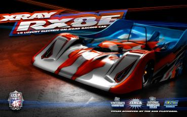 XRAY RX8E.2 - 1/8 LUXURY ELECTRIC ON-ROAD CAR