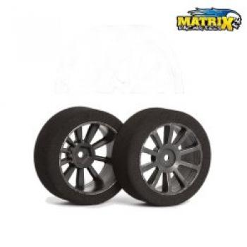 1/10 vo 37° TOURING RC MODEL TIRES MATRIX AIR Graphite (2)