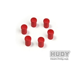 CAP FOR 14MM HANDLE - RED (6)