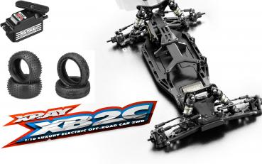 XRAY XB2C'19 - 2WD 1/10 ELECTRIC OFF-ROAD CAR - CARPET EDITION Kombiangebot