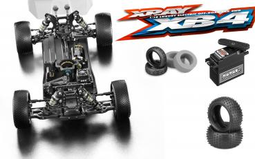 XRAY XB4'19 - 4WD 1/10 ELECTRIC OFF-ROAD CAR Kombiangebot