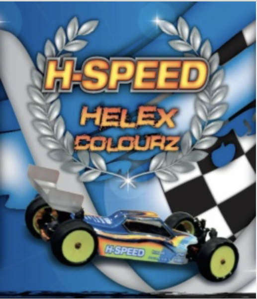 H-Speed Lexan Spray Fluo green 150ml