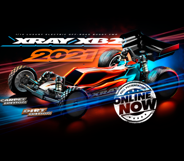 XRAY XB2D'21 - 2WD 1/10 ELECTRIC OFF-ROAD CAR - DIRT EDITION