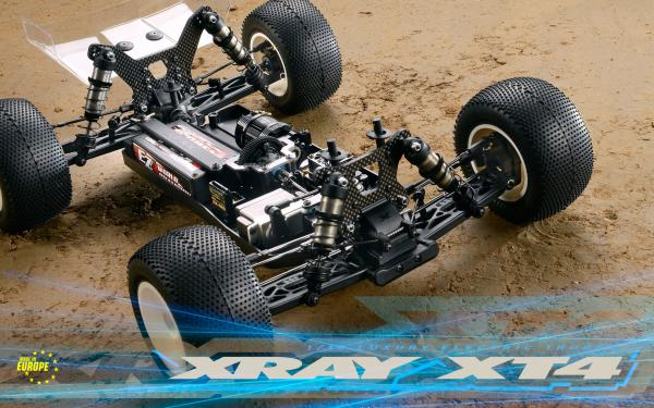XRAY XT4 - 4WD 1/10 ELECTRIC OFF-ROAD TRUGGY